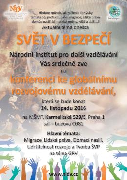 NIDV Plakát GRV konference 10_2016.indd