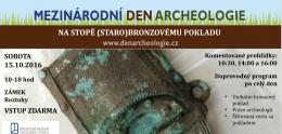 na stopě (staro)bronzovému pokladu