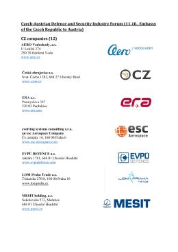 CZ companies (12)