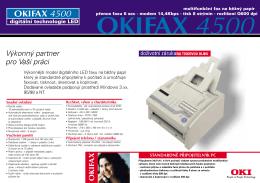 OKIFAX 4500