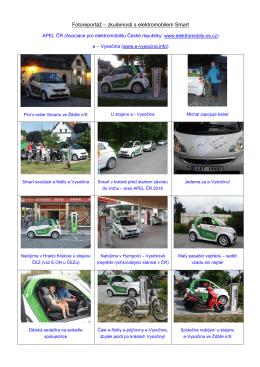 Fotoreportáž – zkušenosti s elektromobilem Smart