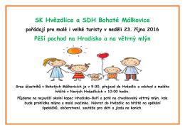 SK Hvězdlice a SDH Bohaté Málkovice