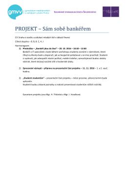 ZDE - Soukromé gymnasium Josefa Škvoreckého