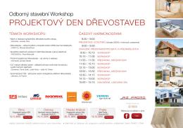 projektový den dřevostaveb - TZB-info