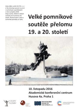 Pomniky Sucharda 10 11 2016 - Ústav dějin umění AV ČR, v. v. i.
