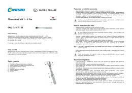 Překlad 819161 - momentový klíč Toolcraft