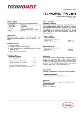 TECHNOMELT PW 280/3