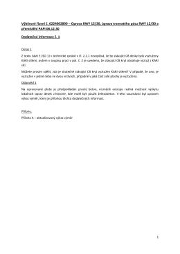 Oprava RWY 12/30, úprava travnatého pásu RWY 12/30 a