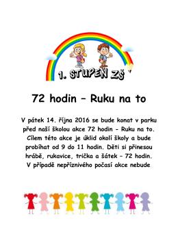Plakát - 72 hodin