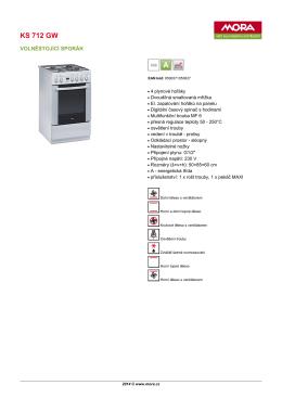 Produktový list KS 712 GW
