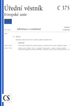 Úřední věstník Evropské unie