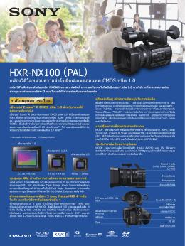 HXR-NX100 (PAL)