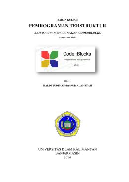 4. Codeblocks Haldi Budiman