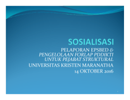 Bahan Sosialisasi PJS 14 Oktober 2016