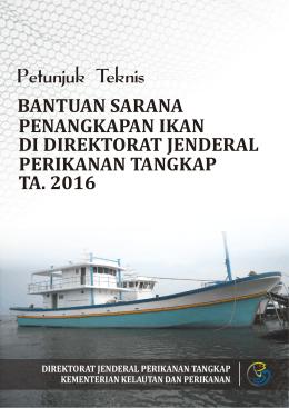 Bantuan Sarana Penangkapan Ikan di Direktorat Jenderal