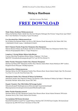 book melayu hasibuan pdf