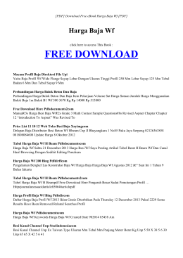 ebook harga baja wf pdf
