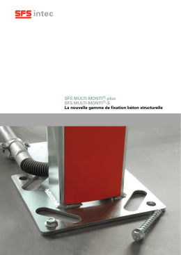 Brochure Multi-Monti®-plus-T et Multi