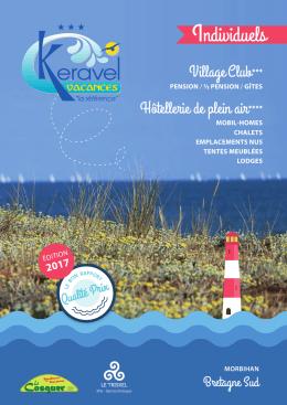Nos tarifs 2017 - Keravel Vacances