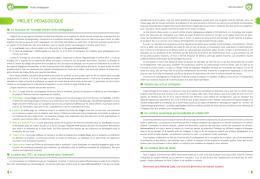 projet pédagogique - Lelivrescolaire.fr