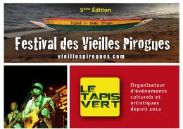 IN » sur le site du Festival - Festival des Vieilles Pirogues, Saly