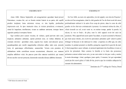 EXEMPLUM IV Anno 1606. Mense Septembri, ad sexagenarium