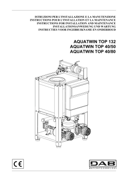 aquatwin top 132 aquatwin top 40/50 aquatwin top 40/80