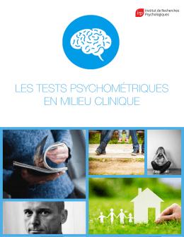 Catalogue Clinique - Institut de Recherches Psychologiques