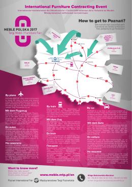 mapka polski 07 - Międzynarodowe Targi Poznańskie