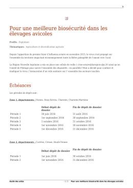 Imprimer en pdf - Guide des aides - Région Nouvelle