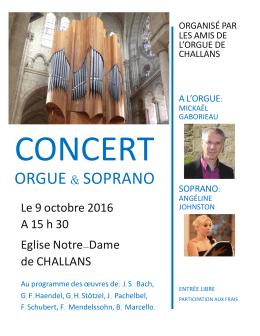 Concet 9 Oct b - Les amis de l`orgue de Challans