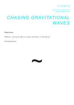 chasing gravitational waves