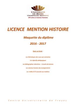 Programme L1-L2-L3