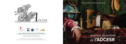 de l`ADCESR - Centre d`Études Supérieures de la Renaissance