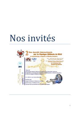 Nos invités - Université Ferhat Abbas Sétif