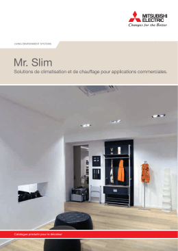 Brochure Mr. Slim - Mitsubishi Electric