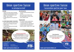 Union sportive Suisse Union sportive Suisse