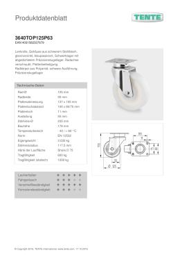 Produktdatenblatt 3640TOP125P63