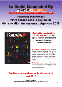 Le guide Connected By TOP/COM EXPRESSION