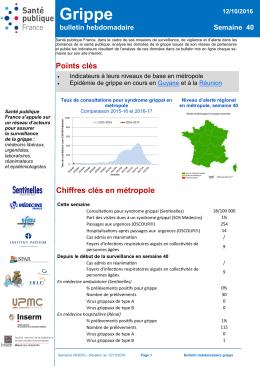 Grippe - InVS - Santé publique France