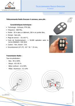 telecommande radio enocean