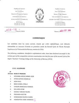 Télécharger le fichier - Ecole Normale Supérieure de Maroua