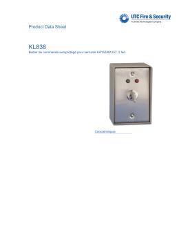 KL838 - DATASHEET