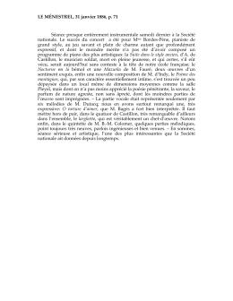 LE MÉNESTREL, 31 janvier 1886, p. 71 Séance presque