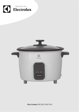 Rice Cooker ERC500/1000/1001